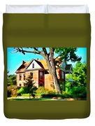 The Denver House Duvet Cover