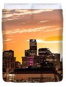 Denver Sunrise Iv Duvet Cover