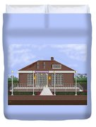 Depot Cafe And Club Car Lounge Duvet Cover