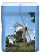 Derbyshire Windmill Duvet Cover