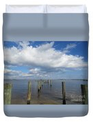 Derelict Dock Duvet Cover