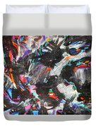 Dervish And The Rainbow  Duvet Cover