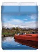 Derwent Water Harbor Duvet Cover