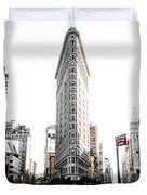 Desaturated New York Duvet Cover