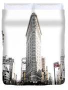 Desaturated New York Duvet Cover