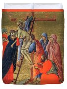 Descent From The Cross 1311 Duvet Cover