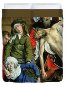 Descent From The Cross Duvet Cover