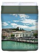 Desenzano Del Garda Lake Garda Italy Duvet Cover