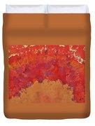 Desert Arch Original Painting Duvet Cover