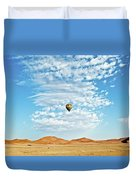 Desert Balloon Duvet Cover