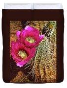 Desert Bloom Duvet Cover