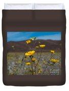 Desert Blooms Duvet Cover