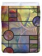 Desert Blossoms - Square Version Duvet Cover