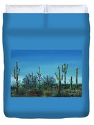 Desert Blue Duvet Cover