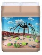 Desert Bug Duvet Cover by Snake Jagger
