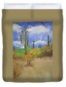 Desert Cactus Duvet Cover