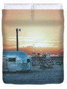 Desert Caravan Duvet Cover