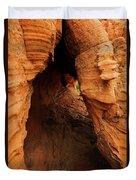 Desert Cavern Duvet Cover