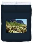 Desert Cholla 1 Duvet Cover