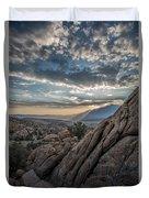 Desert Clouds Duvet Cover