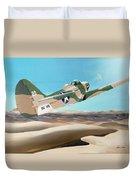 Desert Cobra Duvet Cover