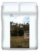 Desert Cottages Duvet Cover