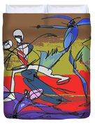 Desert Dance  Duvet Cover