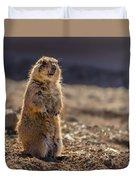 Desert Dawg Duvet Cover