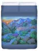 Desert Dawn Duvet Cover
