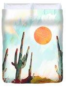 Desert Day Duvet Cover by Spacefrog Designs