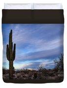 Desert Evening Duvet Cover