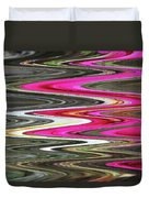 Desert Flowers Abstract Duvet Cover
