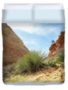 Desert Greenery Duvet Cover