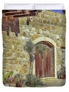Desert House Duvet Cover
