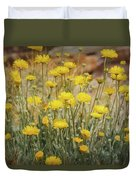 Desert Marigold Bouquet  Duvet Cover