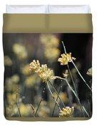 Desert Milkweed Duvet Cover