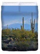 Desert Mule Duvet Cover