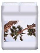 Desert Palm Duvet Cover