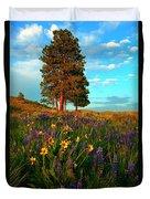 Desert Pines Meadow Duvet Cover