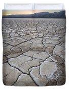 Desert Playa Circle Duvet Cover