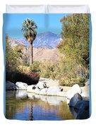 Desert Pond Duvet Cover