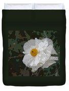 Desert Poppies Duvet Cover