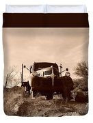 Desert Rat Flatbed Duvet Cover
