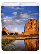 Desert Reflections Duvet Cover