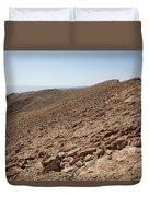 Desert Rock Duvet Cover
