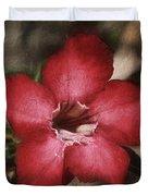 Desert Rose In Daytona Duvet Cover