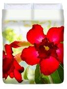 Desert Rose Duvet Cover