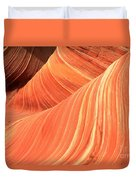 Desert Sandstone Waves Duvet Cover