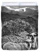 Desert Sheep Duvet Cover