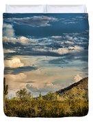Desert Sky - San Tan Arizona Duvet Cover